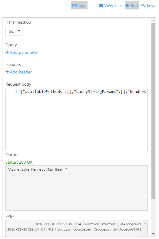 Let's Play with Azure Functions